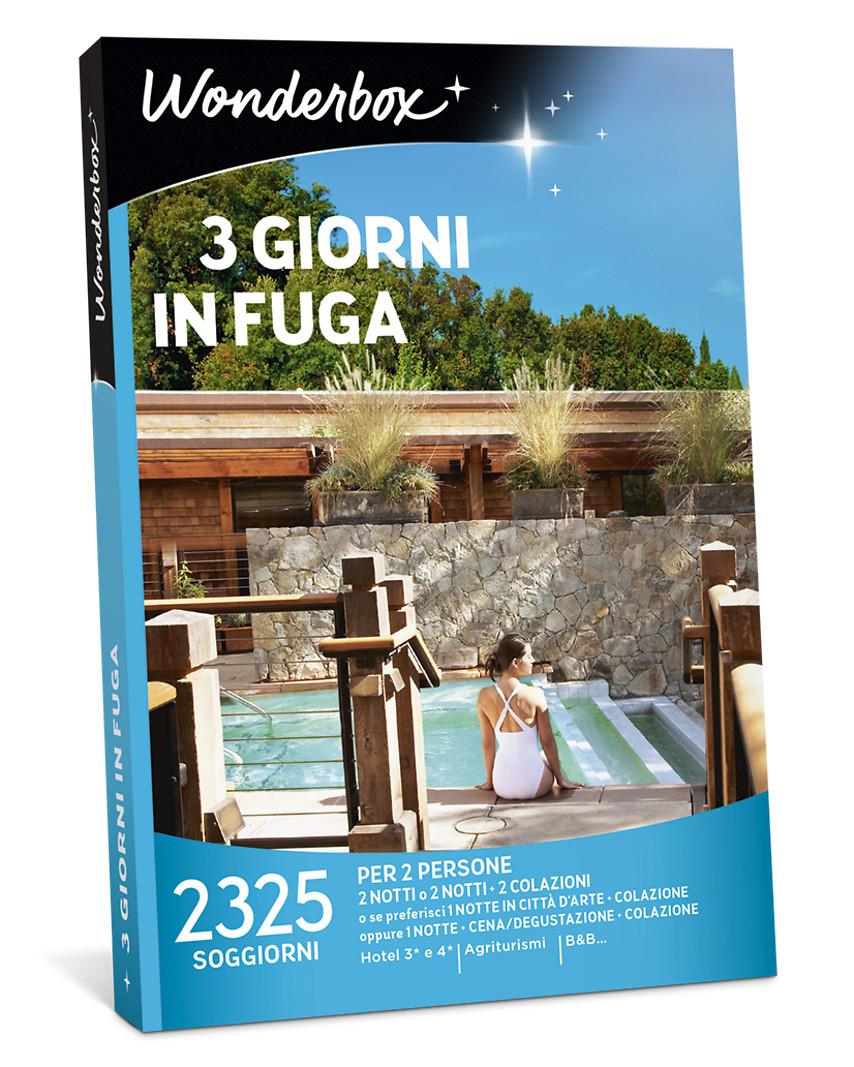 Cofanetto Regalo 3 Giorni In Fuga Wonderbox
